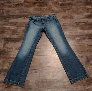 Gap long and lean fit jeans size 8.